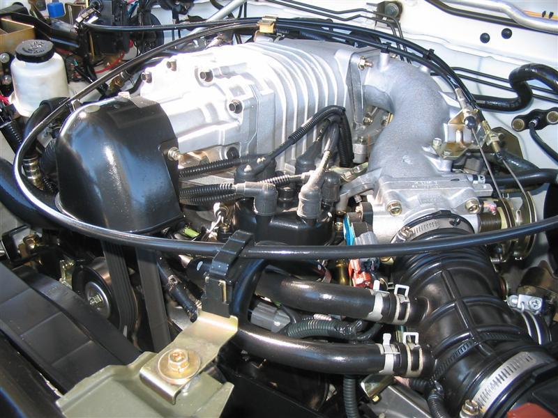 Nissan Frontier Forums: S/C Pullies